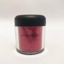 Mac Red Glitter Pigment Full Size New No Box Very Rare 7.5g Beautiful Nails - $39.99