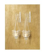BEDAZZLING PENDANT SCONCE DUO - $25.00