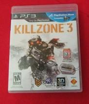 Killzone 3 (Sony PlayStation 3, 2011) - $6.92