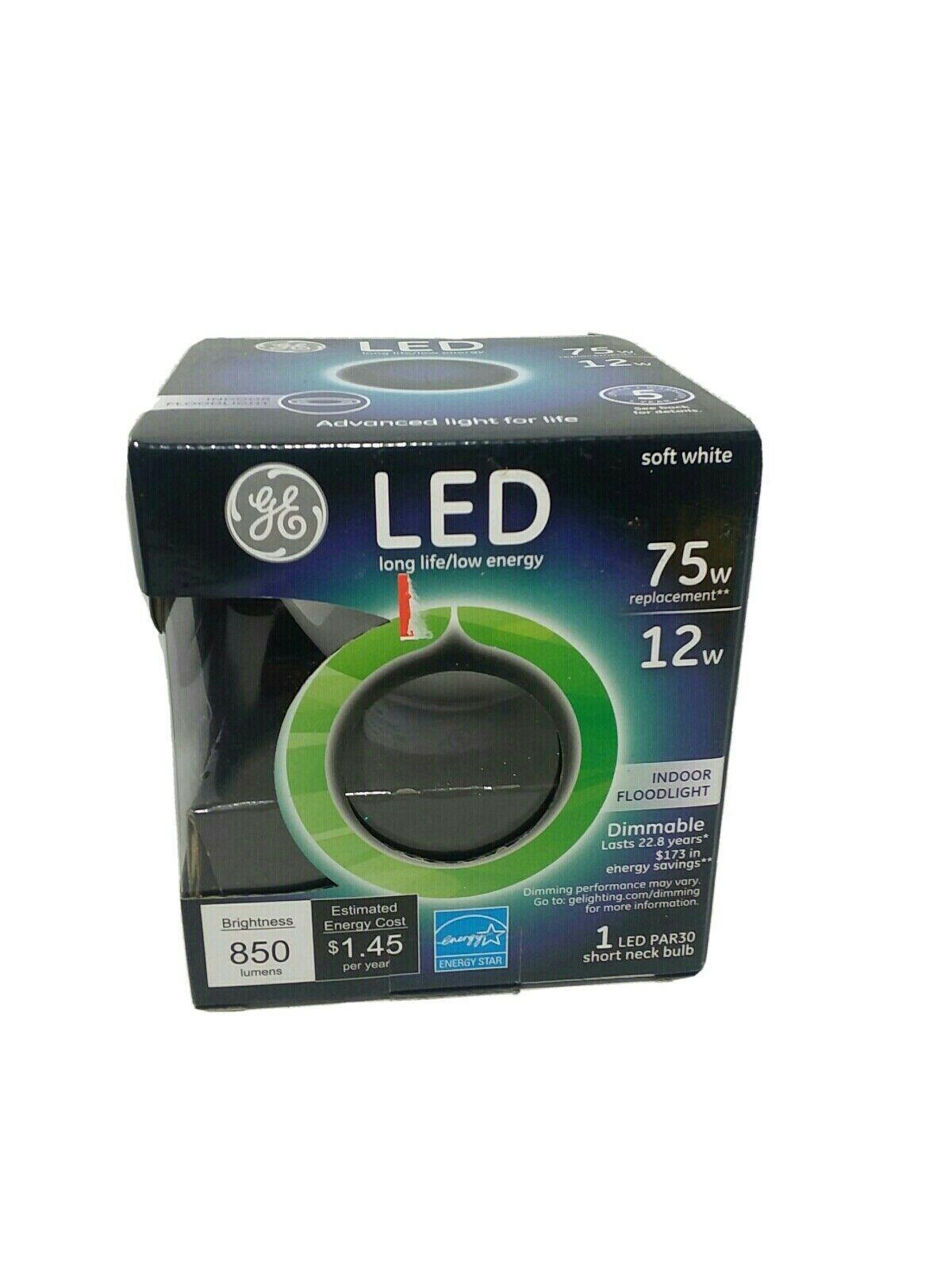 GE Lighting 96847 12 Watt Soft White Dimmable Indoor Floodlight LED Bulb - $9.70