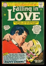 Falling In Love #81 1966-DC Romance COMICS-GLOSSY Cover Fn - $24.25