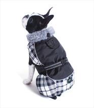 M DOG COAT westie cairn boston terrier bichon pug DOG FLANNEL JACKET clo... - $19.75
