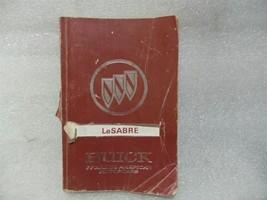 BUICK LESABRE   1991 Owners Manual 14740 - $13.81