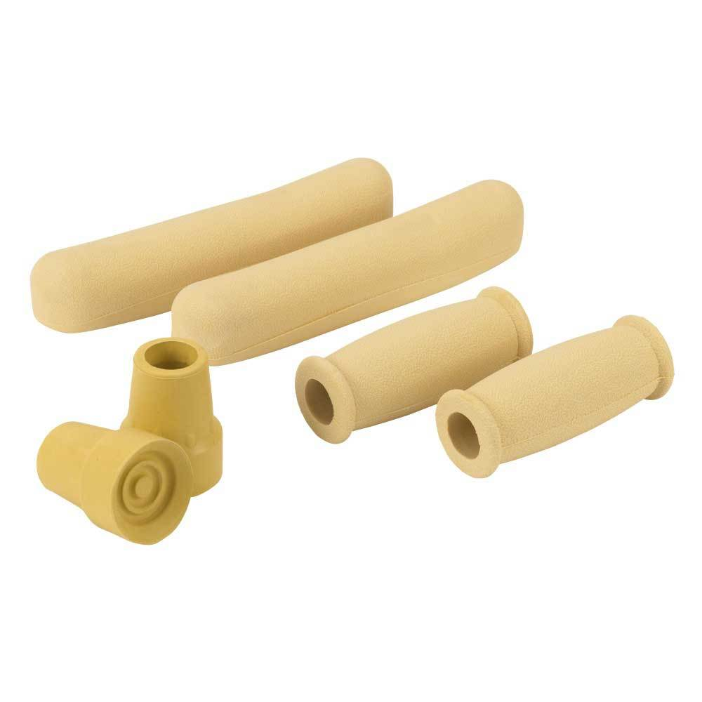 Drive Medical Universal Crutch Accessory Kit Tan