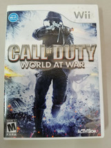 Call Of Duty: World At War (Nintendo Wii, 2008) Complete In Case - $6.93