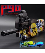 Toy Gun Auto Snipe Soft Water Bullets Paintball Bursts Weapon Outdoor Bo... - $99.25
