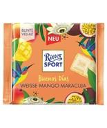 "Ritter Sport ""Buenos Días"" white mango passion chocolate bar 100g- FREE ... - $7.77"