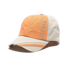 Tommy Hilfiger Kids Logo Baseball Cap Orange/Beige (4 - 7 Years)  Hat Ad... - $24.99