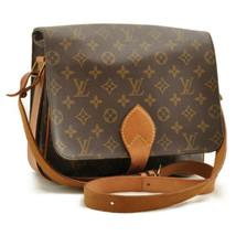LOUIS VUITTON Monogram Cartouchiere GM Shoulder Bag M51252 LV Auth ar1643 - $450.00