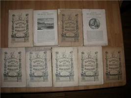 1876 GEORGE ELIOT DANIEL DERONDA 1ST AMERICAN ED 9 vol - $400.00