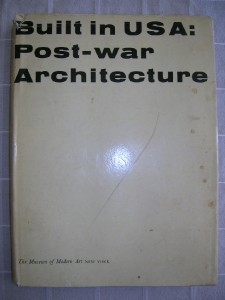 1952 POST WAR ARCHITECTURE USA modernism MOMA [1ST] DJ