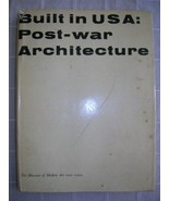 1952 POST WAR ARCHITECTURE USA modernism MOMA [1ST] DJ - $75.00