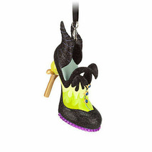 disney sleeping beauty villain maleficent shoe ornament new with tag - $29.07