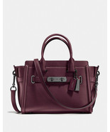Coach Swagger 27 in Glovetanned Leather, Oxblood - $217.79