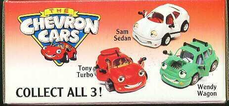 Chevron Cars Tony Turbo, Wendy & Sam Sedan 1/8/12/13