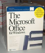 """""""The"""" Microsoft Office 2.0, Vintage PC Software Suite for Windows, Early... - $149.95"""