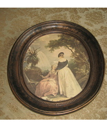 A 'Coppercraft Guild' Oval Framed Print - $20.25