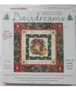 """Dimensions Counted Cross Stitch Daydreams Christmas Bells Kit 8"""" x 8"""" - $15.99"""