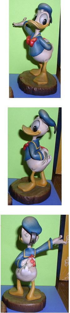 Disney Donald Duck miniature Woodcarving Anri