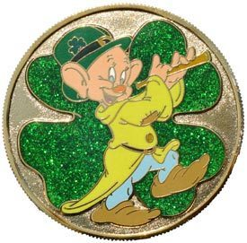Primary image for Disney Dopey paying flute St. Patrick's Day 2007 Mystery LE 800  pin/pins