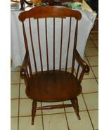 Maple Boston Rocker / Rocking Chair by Nichols & Stone  (R220) - $399.00