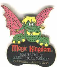 Primary image for Disney  Main Street Electrical Parade  Elliott  dragon WDW MSEP Pin/Pins