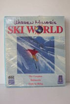 Warren Miller's Ski World '95 CD-ROM Software Game Sealed - $25.48