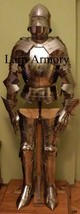 Medieval Knight Full Suit Of Armour Reenactment Halloween Costume - $1,299.00