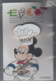 Disney Mickey Chef Hat  Epcot International Food and Wine Festival pin/pins