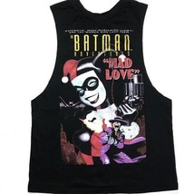 DC Comics Tank Top Batman Adventures Mad Love Harley Quinn Joker Shirt N... - $14.99