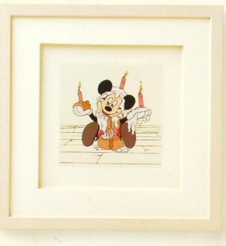 Disney Mickey  Mouse Mickey's Birthday  Framed Art