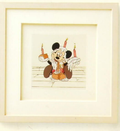 Primary image for Disney Mickey  Mouse Mickey's Birthday  Framed Art