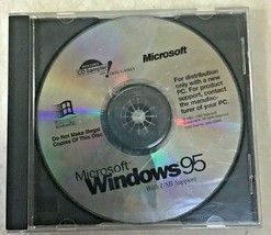 VINTAGE MICROSOFT WINDOWS 95 CD CDs With USB SUPPORT!! - $5.94