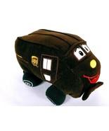 "UPS Worldwide Services Plush Stuffed Talking Truck 9""  - $56.43"