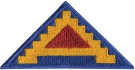 United States Army 7th Army Seven Steps To Hell Patch - $5.29