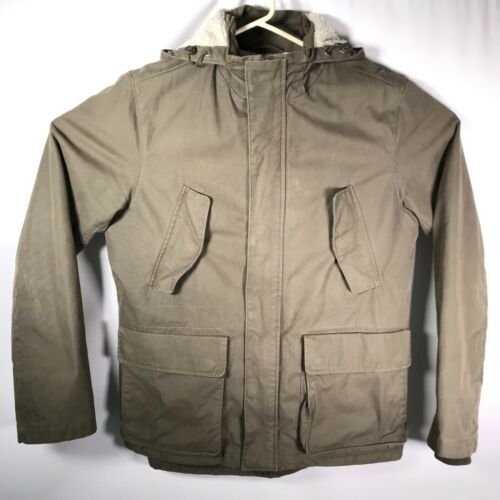 Primary image for GAP Men's Sz. Medium Military Green Jacket Sherpa Lined