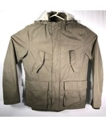 GAP Men's Sz. Medium Military Green Jacket Sherpa Lined - $46.39