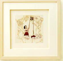 Disney Snow White at the Well Framed Art  original box - $112.22