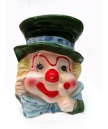 "1960s Napco 5 3/4"" Clown Head Vase - $12.95"