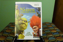 Shrek Forever After: The Final Chapter (Nintendo Wii, 2010) VG With Manual - $7.91