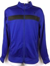 Fila Sport Performance Mens Athletic Jacket Size M, Blue Black Running T... - $13.99