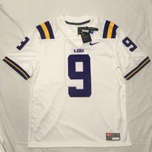 Nike LSU Tigers Limited Sewn Men's Large Joe Burrow #9 Football Jersey W... - $79.99