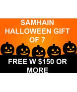 FREE W $150 SAMHAIN HALLOWEEN MYSTERY GIFT OF 7 WORTH $300 MAGICK CASSIA4 - $0.00