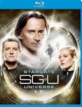 Stargate Universe: 1.5 (Blu-ray Disc, 2010, 3-Disc Set) (Blu-ray Disc, 2010)