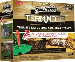 Spectracide Terminate Termite Detection & Killing Stakes, 15 ct - $56.09