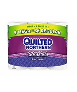 Quilted Northern Ultra Plush Bath Tissue, 9 Count - $45.35