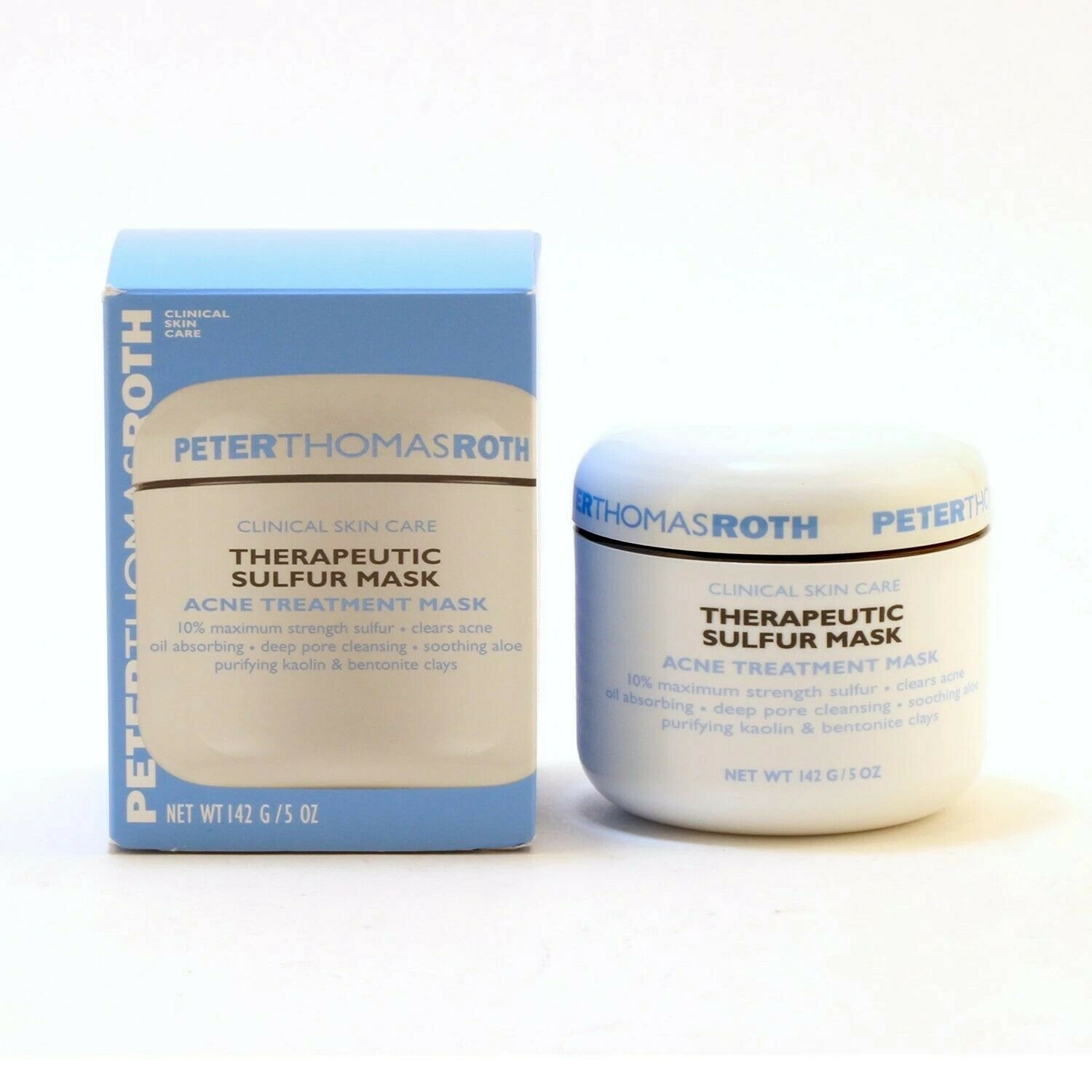 Primary image for Peter Thomas Roth Therapeutic Sulfur Mask 5oz Acne Treatment All Skin Type 2021