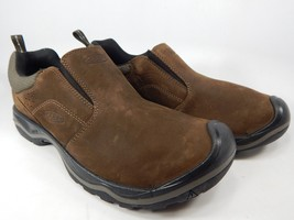 Keen Rialto Size 9 M (D) EU 42 Men's Leather Casual Slip On Shoes Brown 1017427