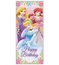Disney Princess Happy Birthday Door Poster - £6.20 GBP