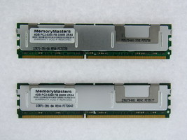 8GB (2X 4GB) Dimm Memory 4 Apple Mac Pro DDR2 PC2-5300 667MHz Ecc Fully Buffered - $39.11